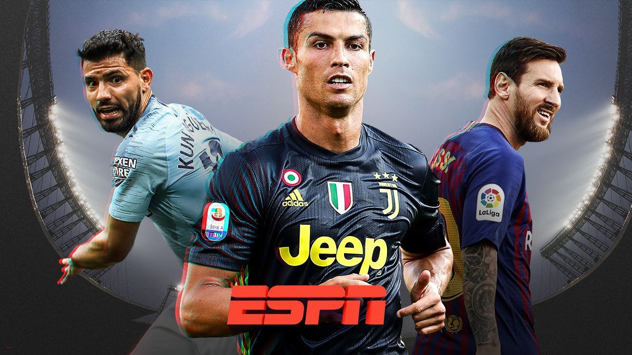 Messi and Agüero command victories; Cristiano debuted in Italy