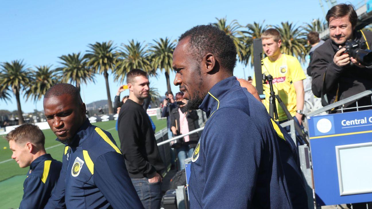 Usain Bolt's A-League audition kicks off