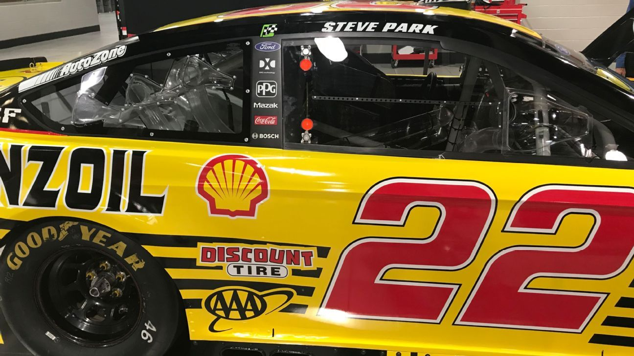 Nascar Cup Series Joey Logano Shell Join Forces To