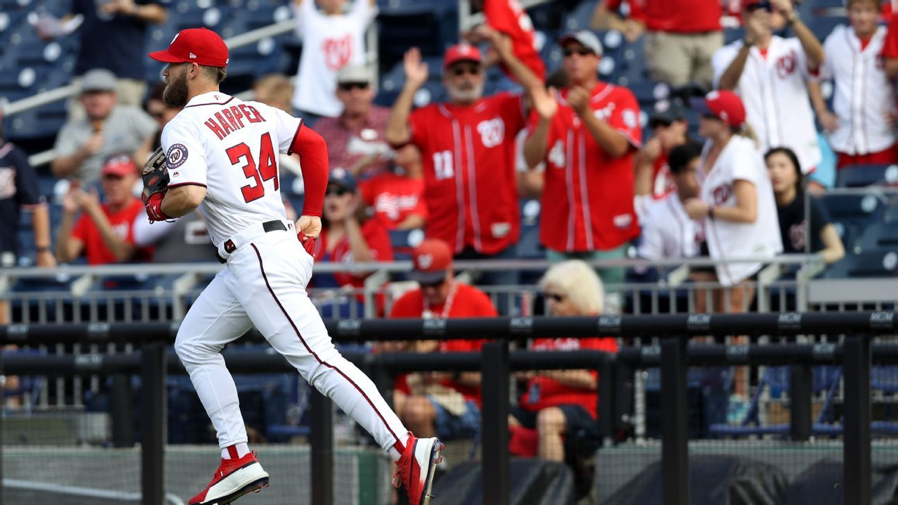 Bryce Harper on Washington Nationals -- Crazy this may be last Washington Nationals home game