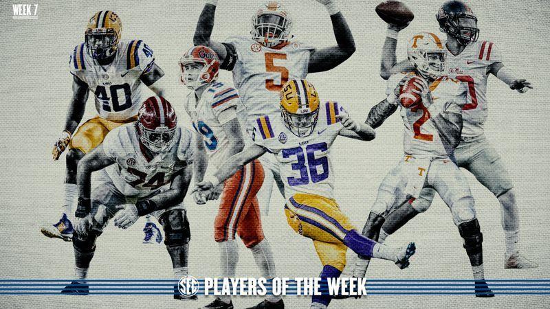 Week 7: Football Players of the Week
