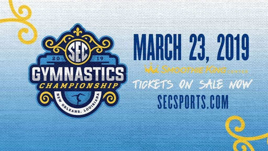 2019 SEC Gymnastics Championship tickets on sale