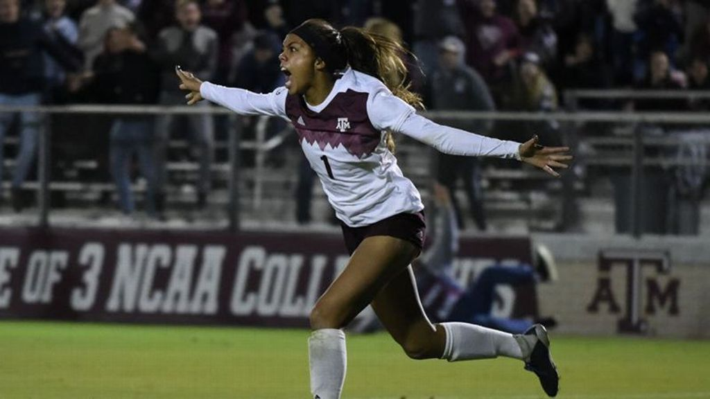 Golden goal sends Aggies to second round