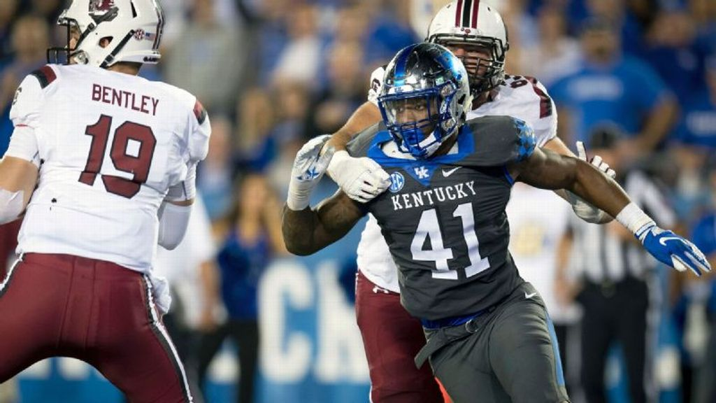 UK's Allen wins Bronko Nagurski and Lott IMPACT awards