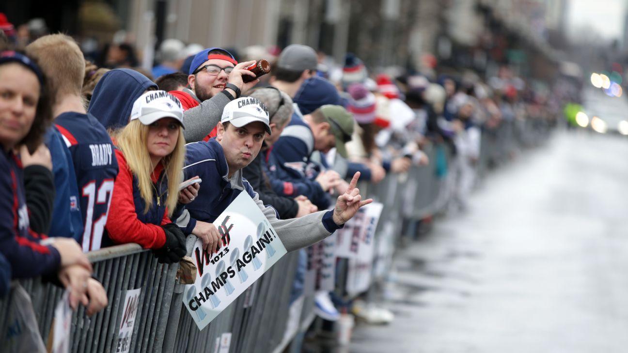 Desfile Patriots
