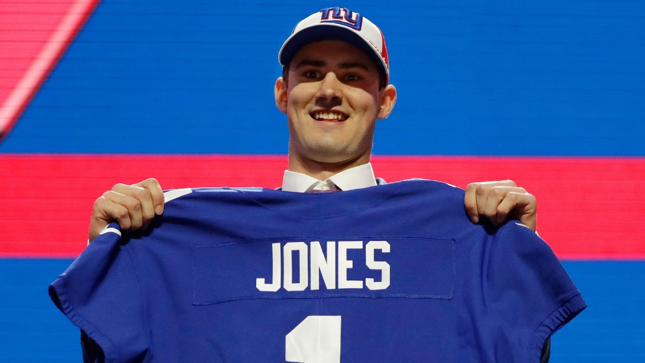 Daniel Jones, QB, New York Giants