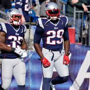 Jonas Gray and LeGarrette Blount