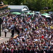Day 1: Wimbledon fans