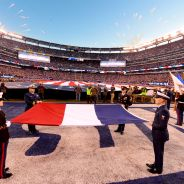 Giants vs. Patriots Pregame Ceremony
