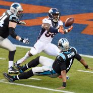 Cam Newton fumble