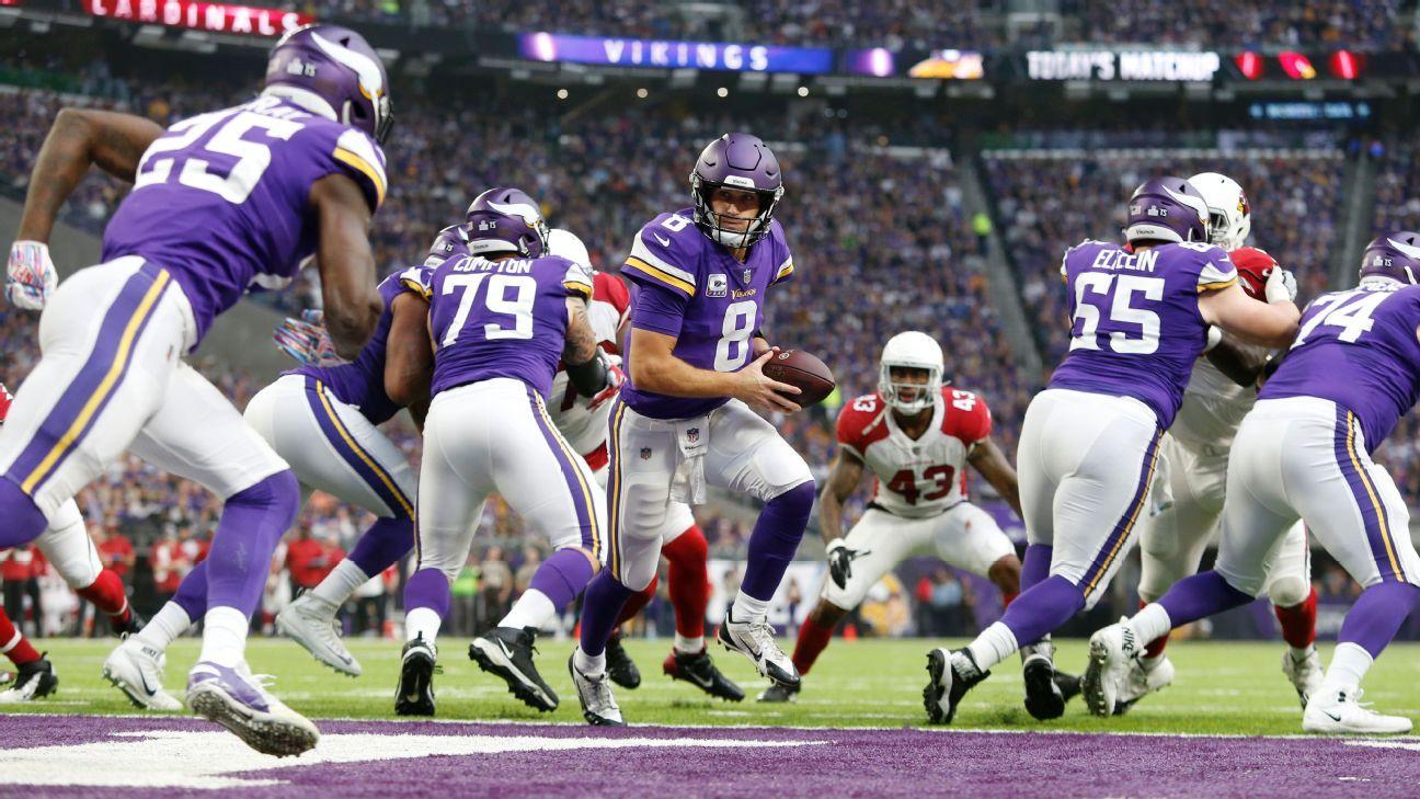 Kirk Cousins, QB, Minnesota Vikings