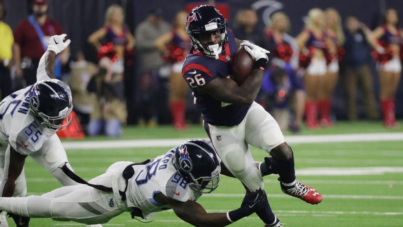 Lamar Miller, RB, Houston Texans
