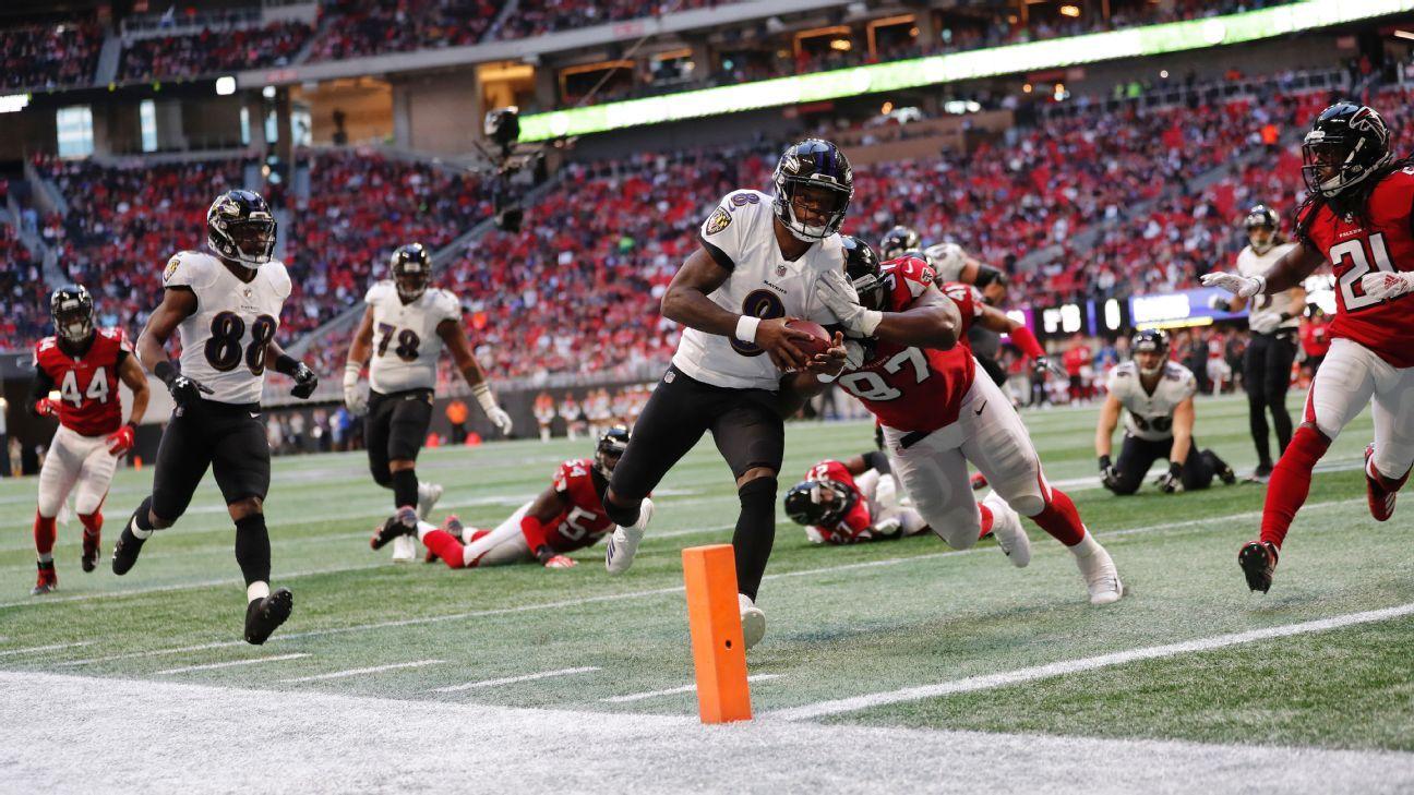 Lamar Jackson, QB, Baltimore Ravens