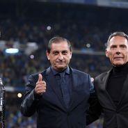 Personalidades presentes en el superclásico en el Bernabéu