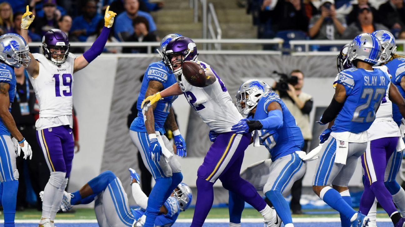 Kyle Rudolph, TE, Minnesota Vikings
