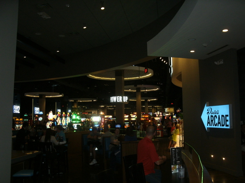 ESPN Dallas' Cowboys pregame show at Dave and Buster's
