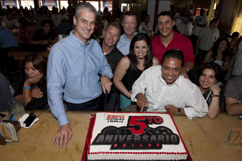 ESPN Deportes Five-Year Anniversary