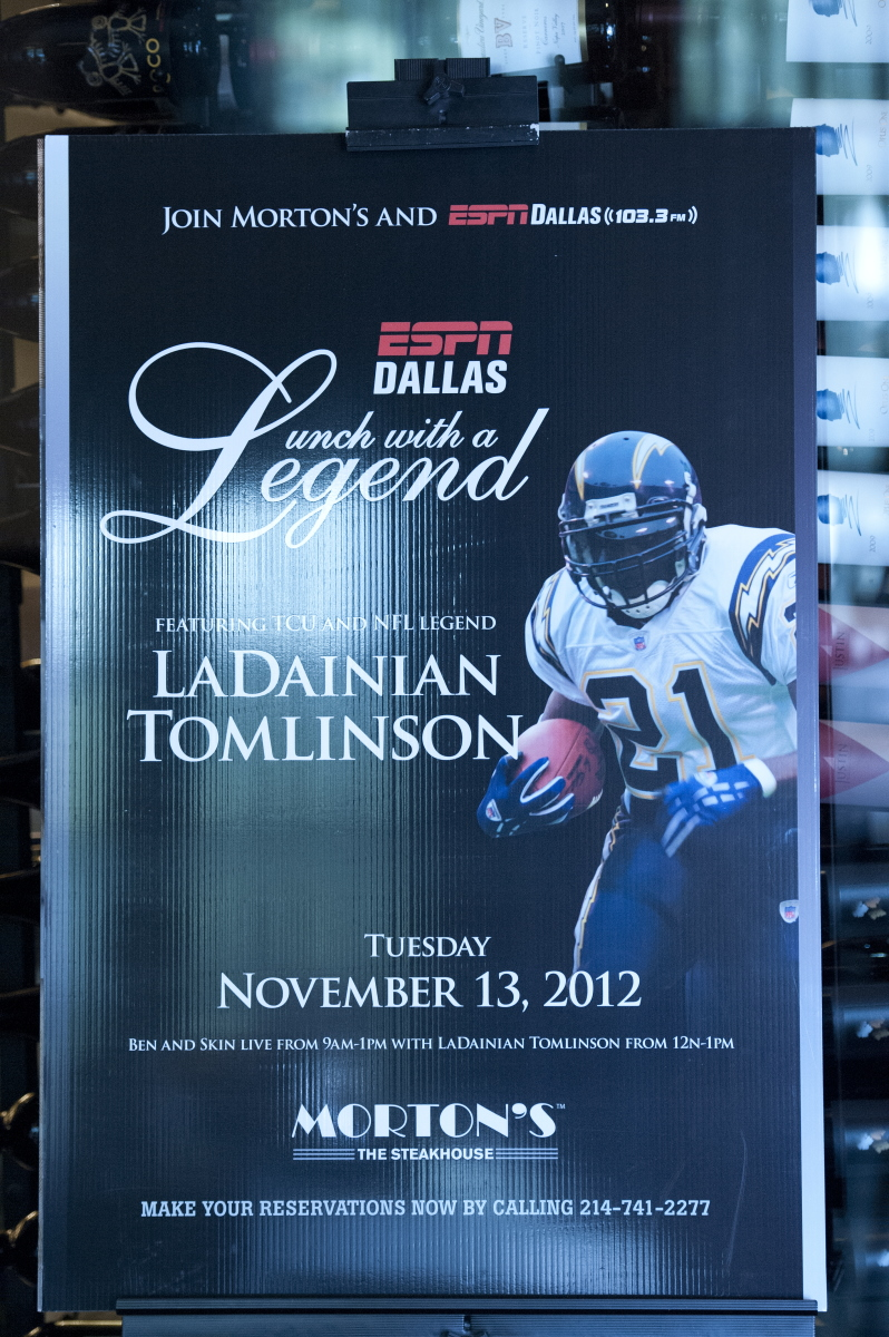 Lunch with a Legend - LaDainian Tomlinson