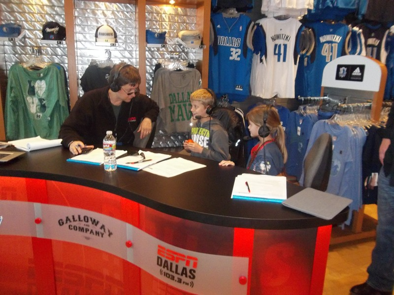 Galloway & Company at Mavs Fan Shop