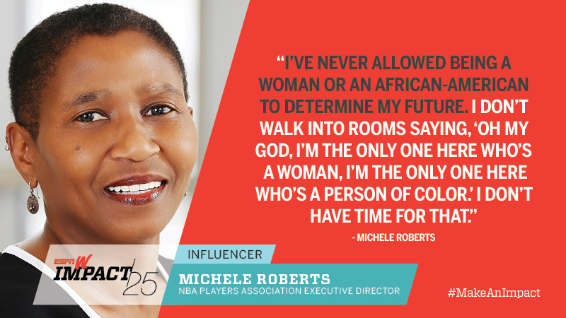 Michele Roberts, 57, NBA Players Association Executive Director