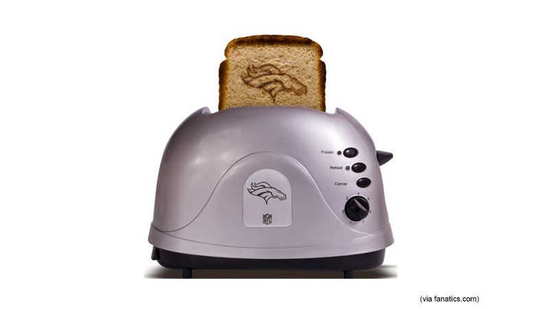 Breakfast of Champions Toaster (39, Fanatics.com)