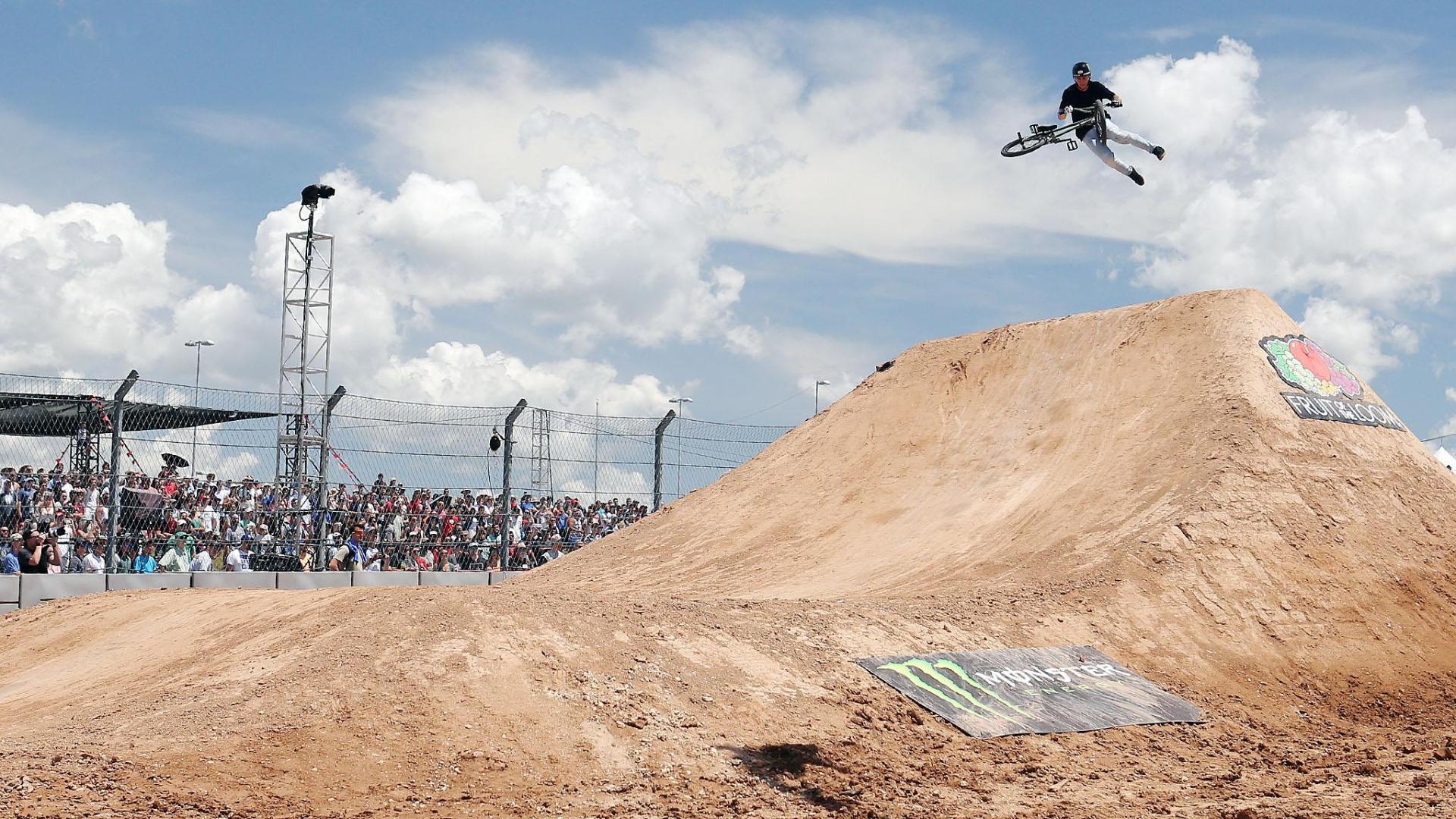 Ben Wallace wins X Games BMX Dirt silverX Games Bmx Dirt