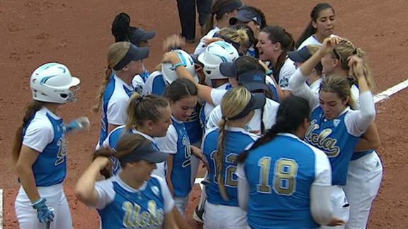 UCLA beats Texas A&M 8-2 in softball behind Garcia homer