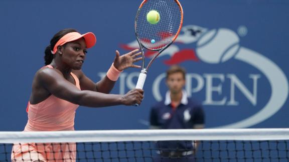 Sloane Stephens advances to her first USA open quarterfinal