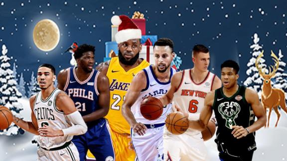 fef576f1fc8 NBA releases Christmas Day