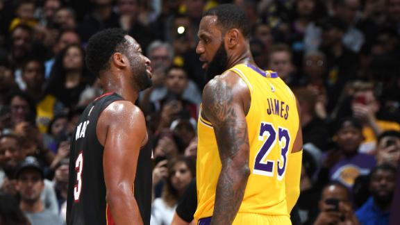 Dwyane Wade of Miami Heat -- LeBron James had my number on play at end