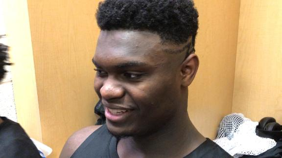 Duke freshman Zion Williamson more confident shooting from deep