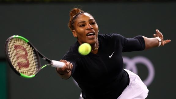 Stephens stunned; Serena cruises at Indian Wells