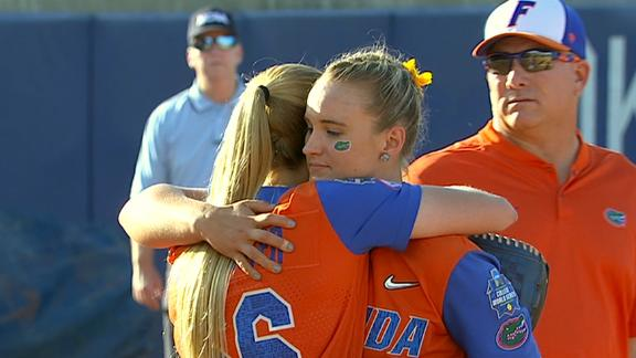 Alabama routs Florida to stay alive in WCWS