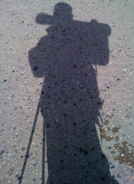 i'I like to take pictures of my shadow :)' —Tim Dutton/i