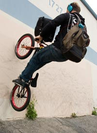 bBrief Case Fakie: The road to business success is littered with obstacles. i-Chris Moeller/i/b