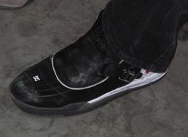 Danny Way's exclusive Big Air shoes.