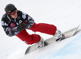 Powers' third place finish in the FIS Snowboardcross World Cup in December, 2009 helped solidify his standing as a serious contender in the boardercross world.