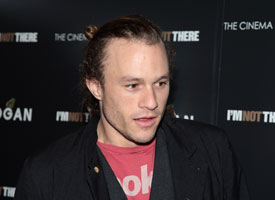 The late Heath Ledger: An actor and a skateboarder.