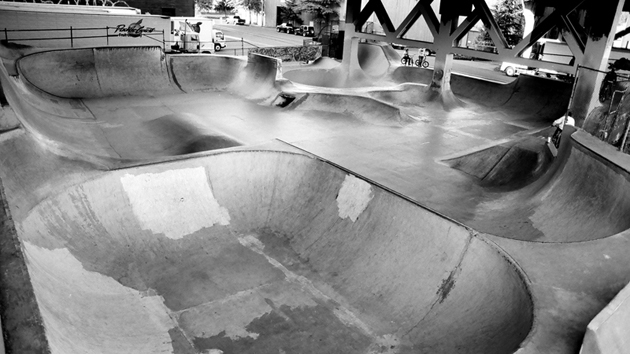 Burnside Skatepark in Portland, Oregon
