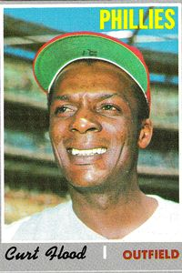 Curt Flood's trade to the Phillies would change baseball history.