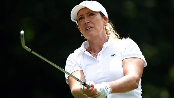 Cristie Kerr, at No. 4, is the top American in the world rankings.
