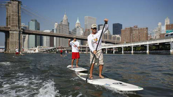 Past paddles have included Darrick Doerner and Gerry Lopez