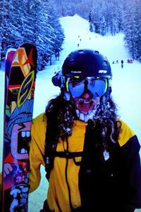 Sage Cattabriga-Alosa skis for Atomic now.