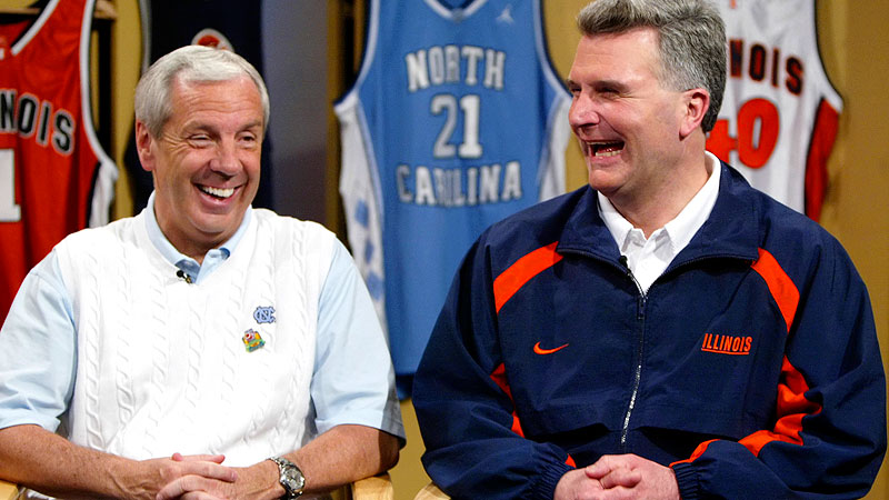 Roy Williams and Bruce Weber
