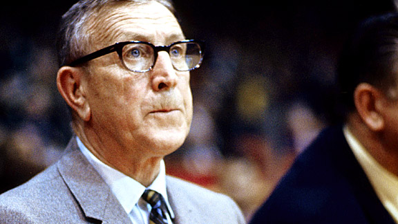 John Wooden coached some of the game's legends, including Kareem Abdul-Jabbar and Bill Walton.