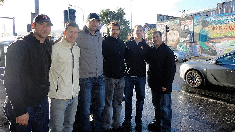 Bruins In Europe