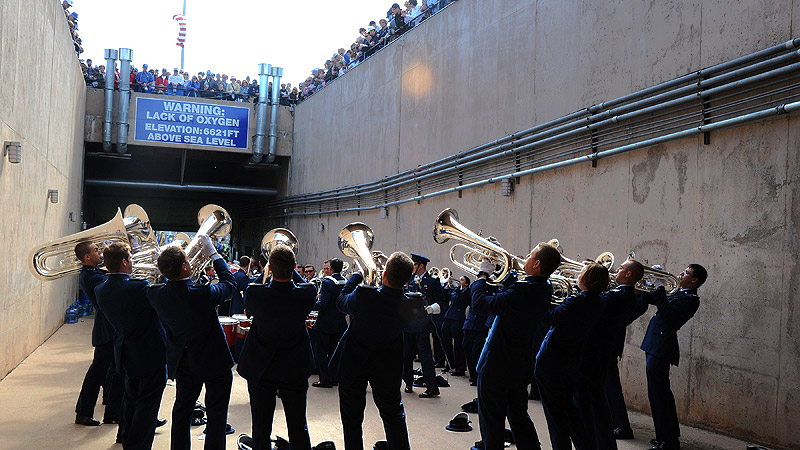 Band In The Tunnel