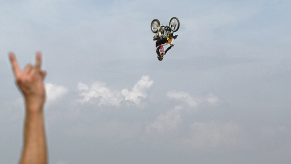 X Games VIII was where Metzger rewrote the rules of freestyle competition. Before that, the backflip was a rumor. After, it was mandatory.