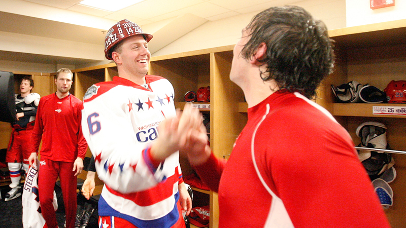 Eric Fehr and Alex Ovechkin