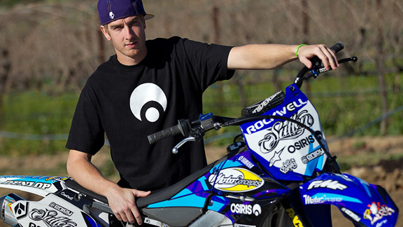 Cantrell is the first FMX rider to make the MotoConcepts/Yamaha and will receive factory support from Yamaha. a class=launchGallery href=http://espn.go.com/action/photos/gallery/_/id/6058273/destin-cantrell-bike-checkLaunch gallery »/a